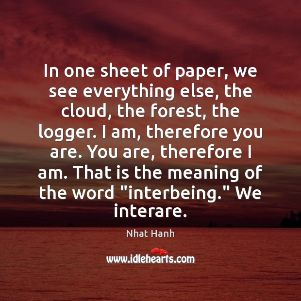 In one sheet of paper, we see everything else, the cloud, the Image