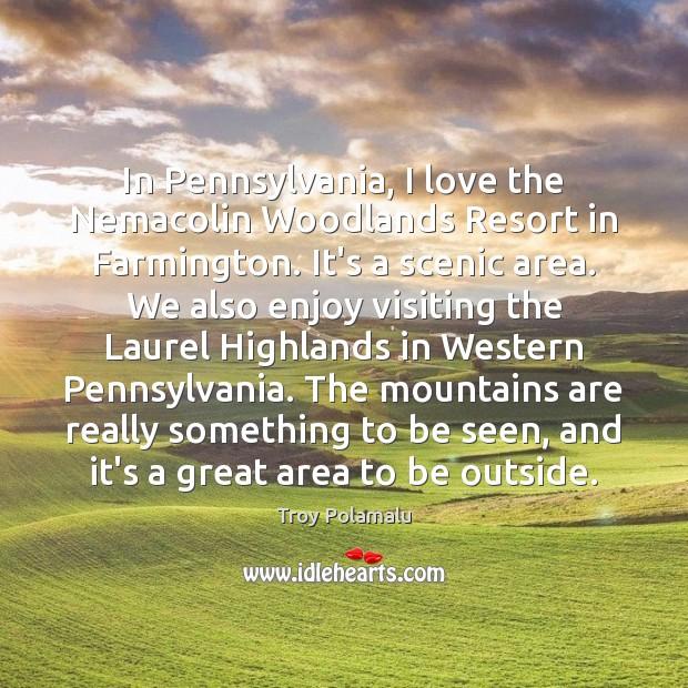 Image, In Pennsylvania, I love the Nemacolin Woodlands Resort in Farmington. It's a