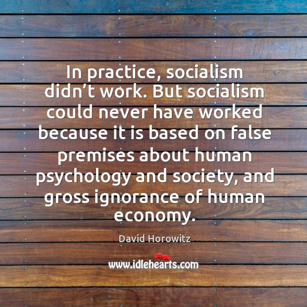 Picture Quote by David Horowitz