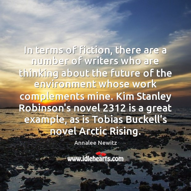 Image, In terms of fiction, there are a number of writers who are