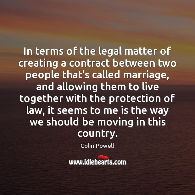 In terms of the legal matter of creating a contract between two Image