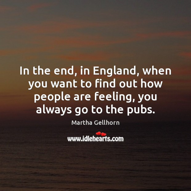 In the end, in England, when you want to find out how Image