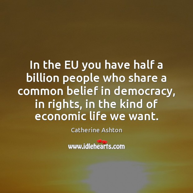 Image, In the EU you have half a billion people who share a