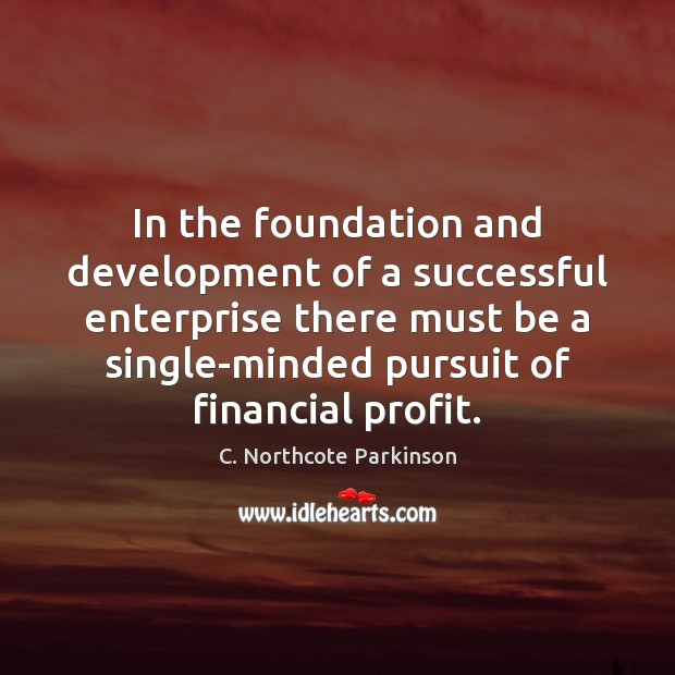 Image, In the foundation and development of a successful enterprise there must be