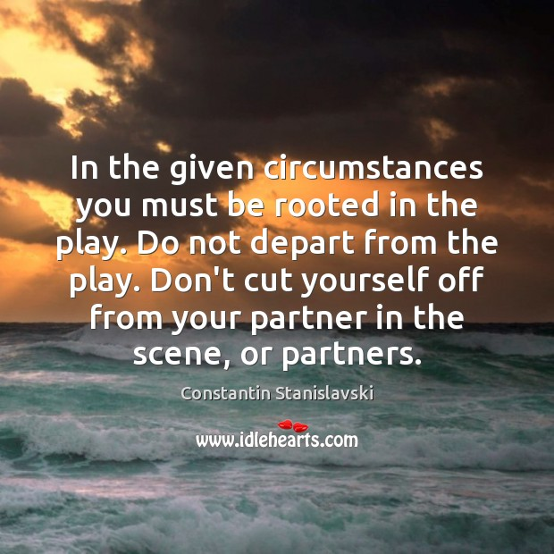 In the given circumstances you must be rooted in the play. Do Image