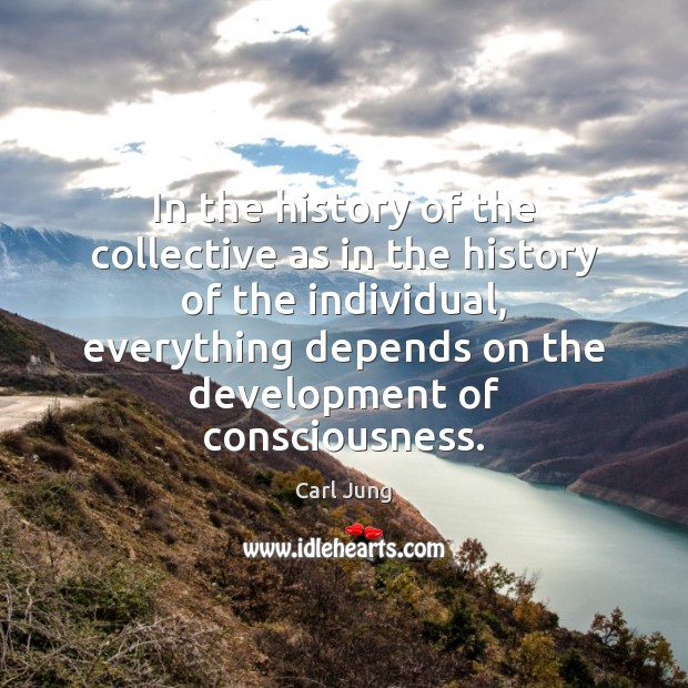 In the history of the collective as in the history of the Image