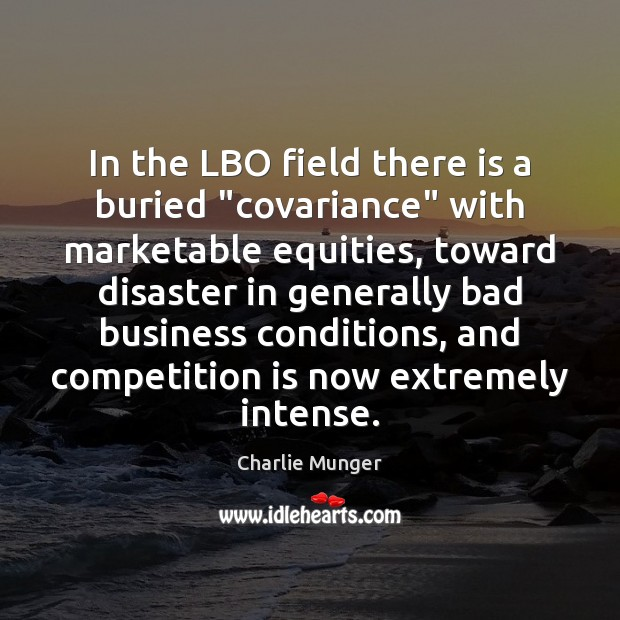 """Image, In the LBO field there is a buried """"covariance"""" with marketable equities,"""