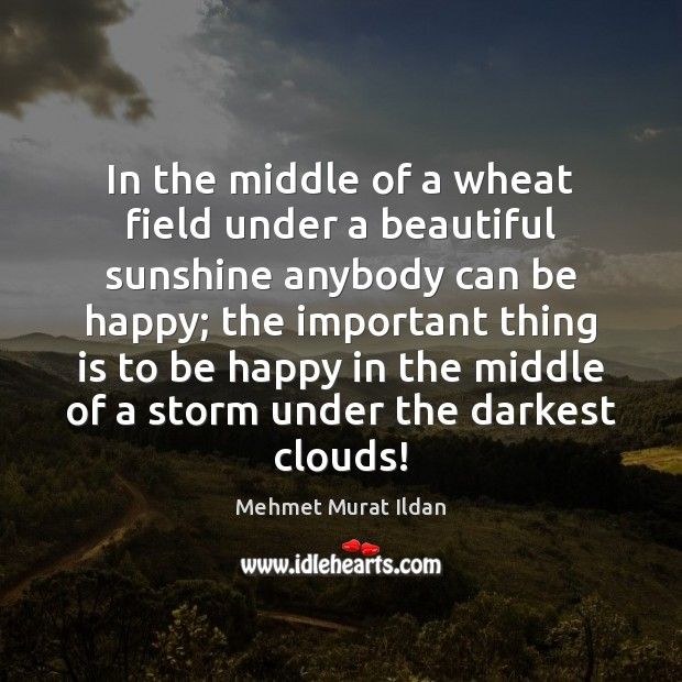Image, In the middle of a wheat field under a beautiful sunshine anybody