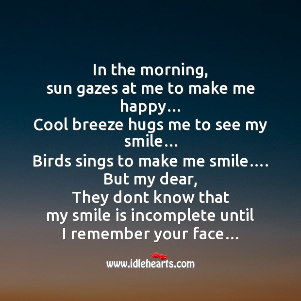Image, In the morning, sun gazes at me to make me happy…