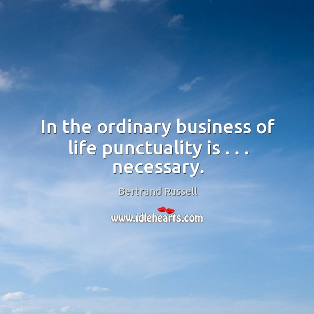 Punctuality Quotes