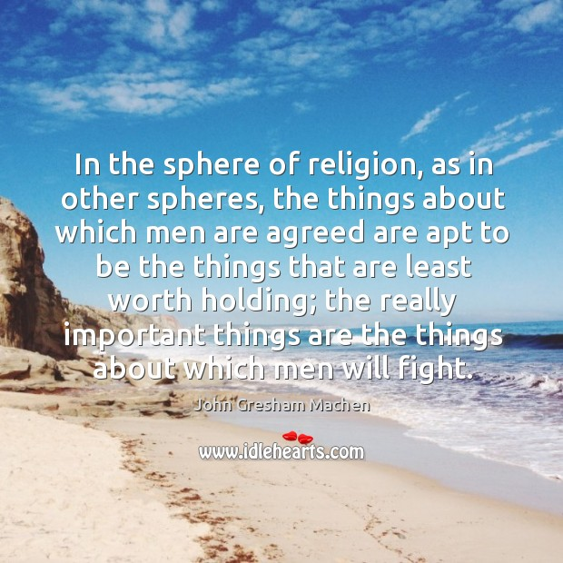 In the sphere of religion, as in other spheres, the things about Image
