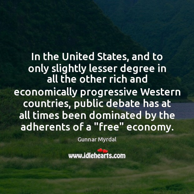 Image, In the United States, and to only slightly lesser degree in all