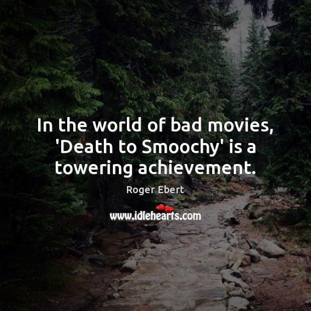 Image, In the world of bad movies, 'Death to Smoochy' is a towering achievement.