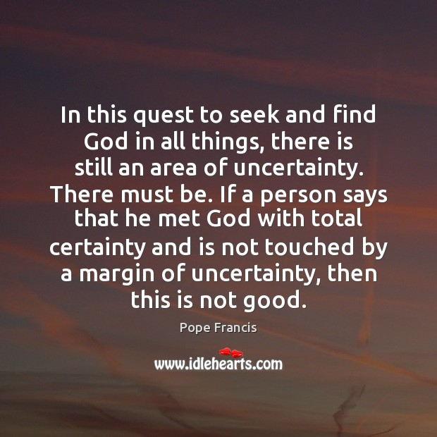 In this quest to seek and find God in all things, there Image