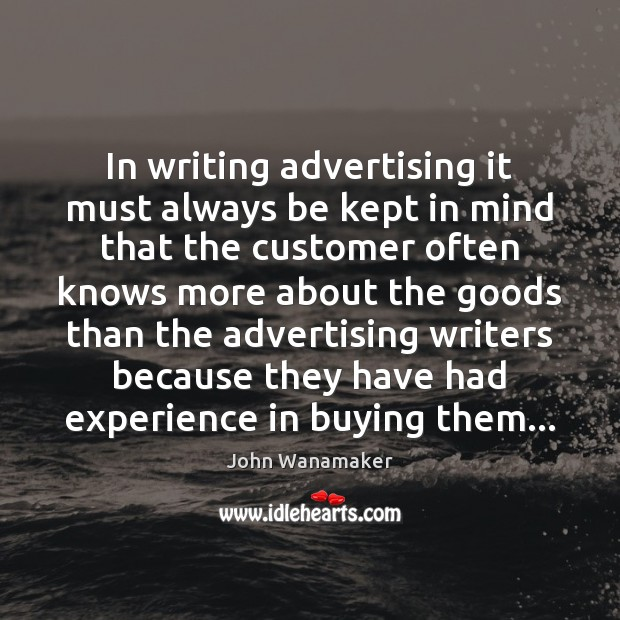 Picture Quote by John Wanamaker