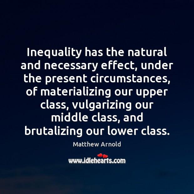 is inequality necessary