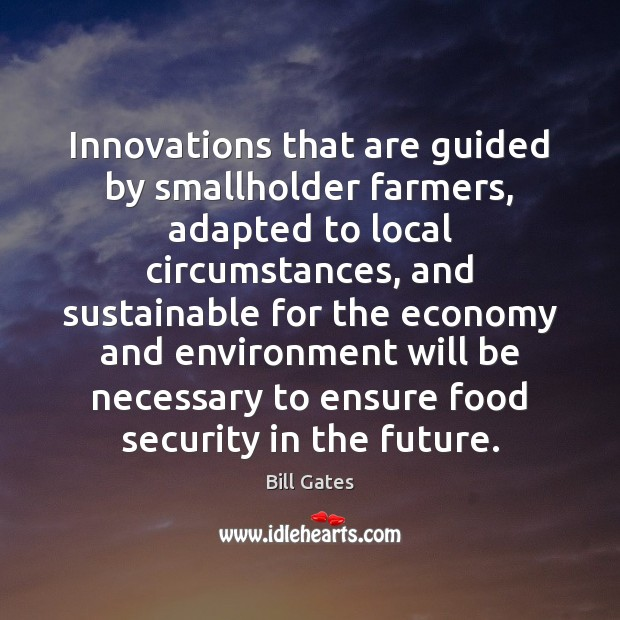 Image, Innovations that are guided by smallholder farmers, adapted to local circumstances, and