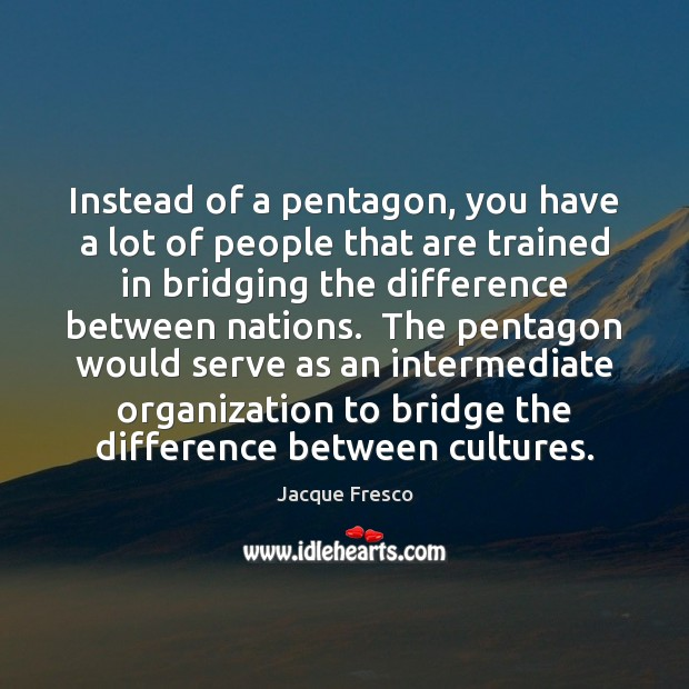 Instead of a pentagon, you have a lot of people that are Image