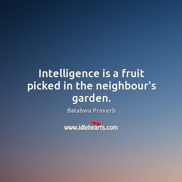 Batabwa Proverbs