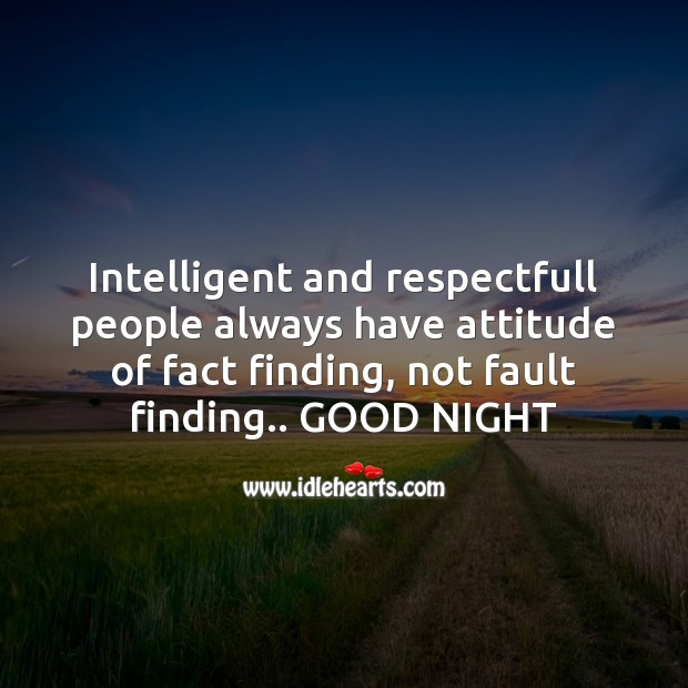 Intelligent and respectfull people Image
