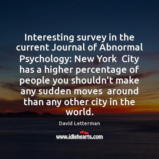 current content on defective psychology