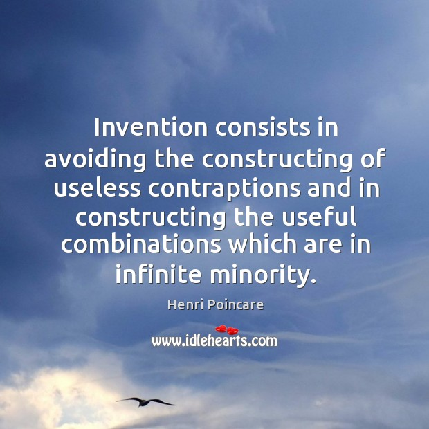 Invention consists in avoiding the constructing of useless contraptions and Image