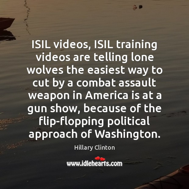 Image, ISIL videos, ISIL training videos are telling lone wolves the easiest way