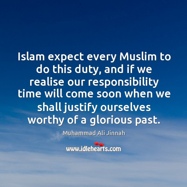 Islam expect every muslim to do this duty Image