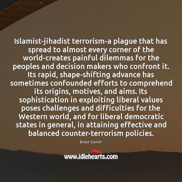 Image, Islamist-jihadist terrorism-a plague that has spread to almost every corner of the