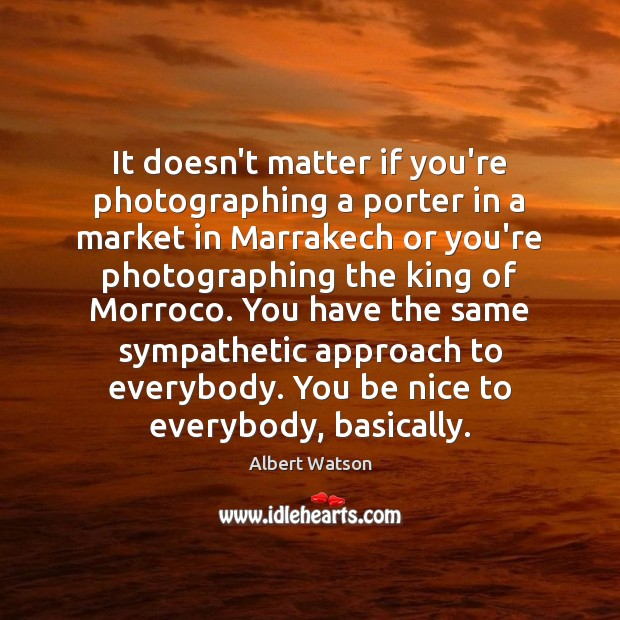 Image, It doesn't matter if you're photographing a porter in a market in
