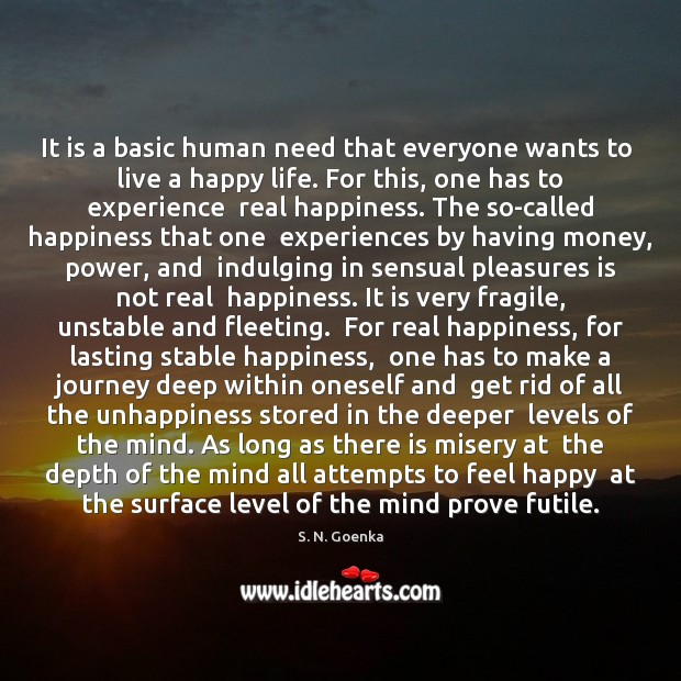 Image, It is a basic human need that everyone wants to  live a