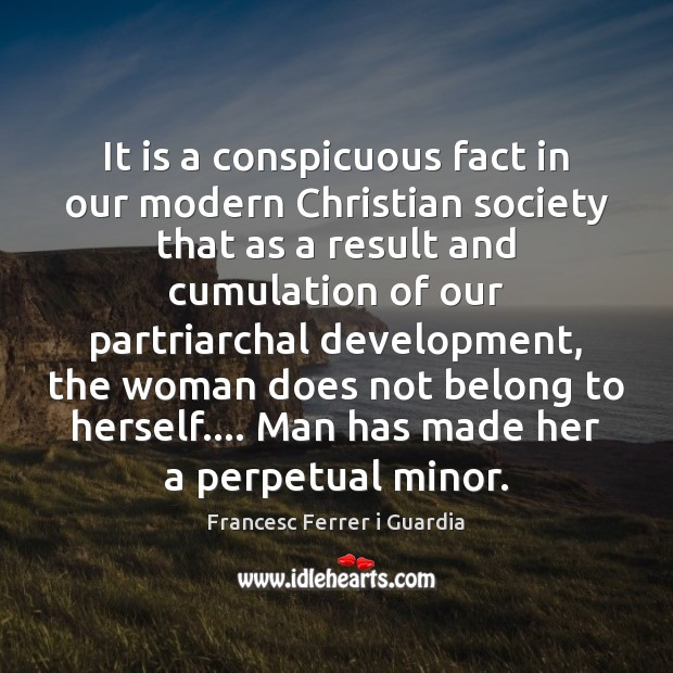 Image, It is a conspicuous fact in our modern Christian society that as