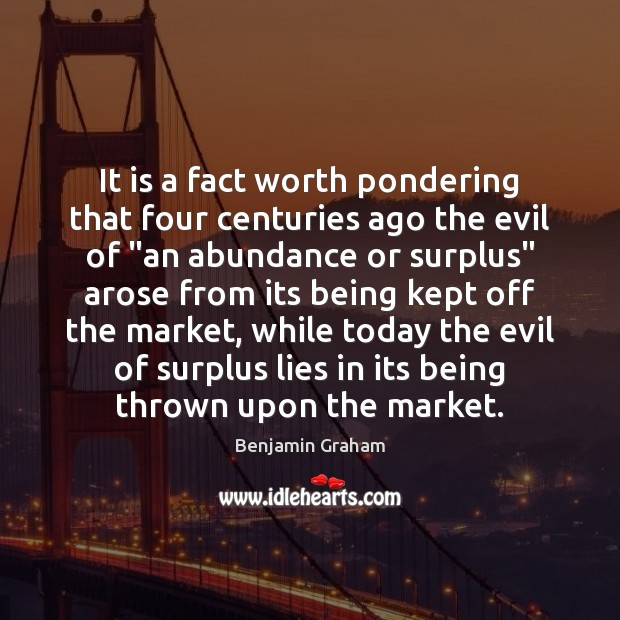 Image about It is a fact worth pondering that four centuries ago the evil