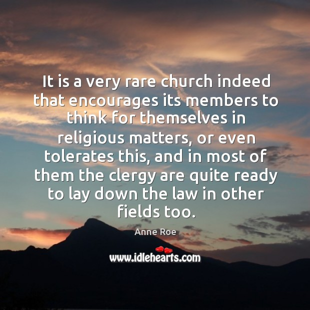 Image, It is a very rare church indeed that encourages its members to