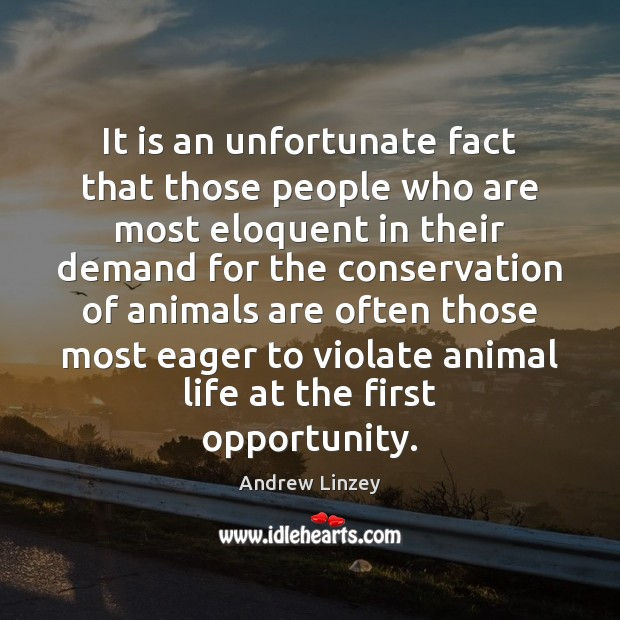 It is an unfortunate fact that those people who are most eloquent Image