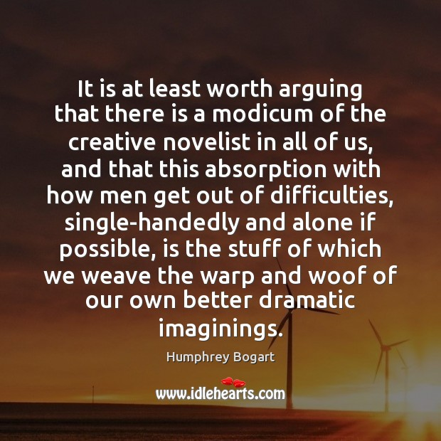Image, It is at least worth arguing that there is a modicum of