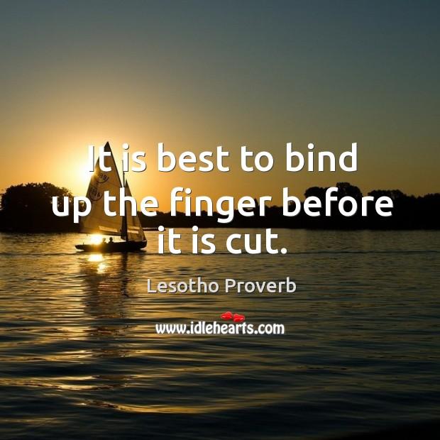 Lesotho Proverbs