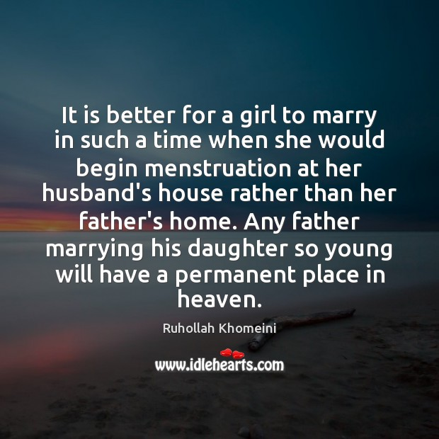 Image, It is better for a girl to marry in such a time
