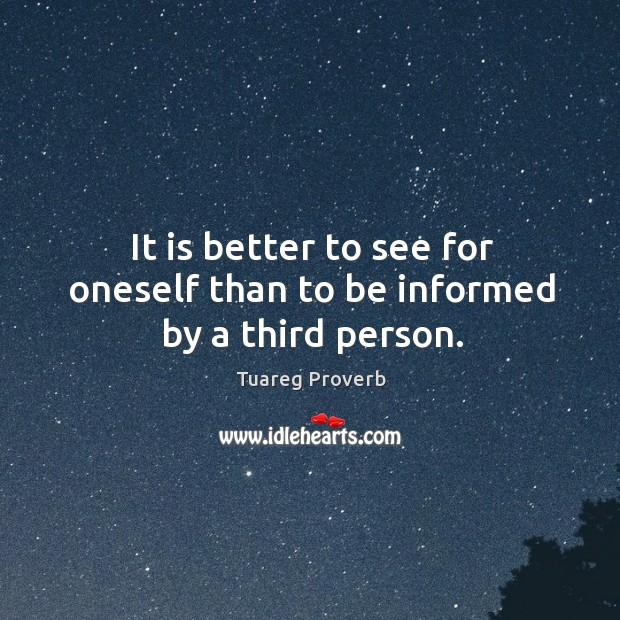 Tuareg Proverbs