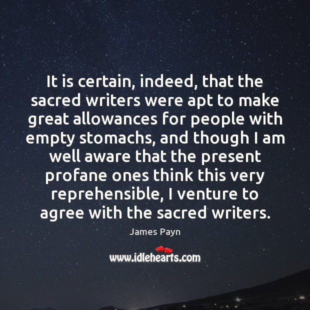 Image, It is certain, indeed, that the sacred writers were apt to make
