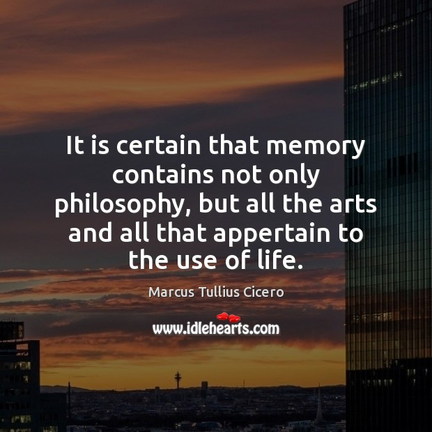 Image, Art, Arts, Certain, Contains, Life, Memories, Memory, Only, Philosophy, Use