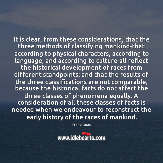 It is clear, from these considerations, that the three methods of classifying Image