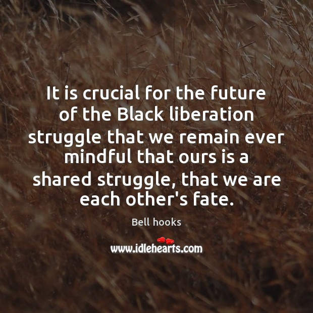 Image, It is crucial for the future of the Black liberation struggle that