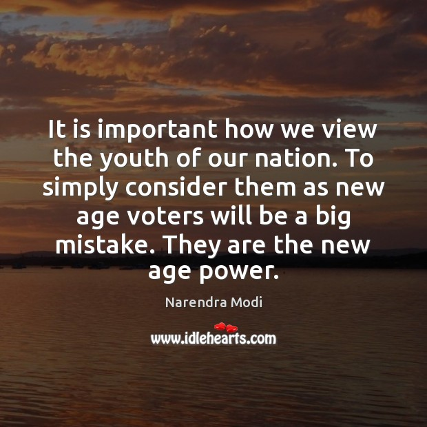 Image, It is important how we view the youth of our nation. To