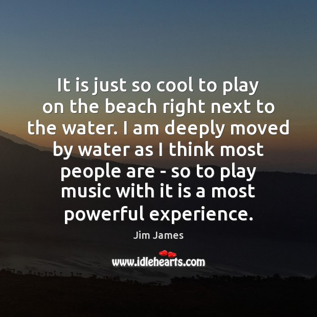 It is just so cool to play on the beach right next Image