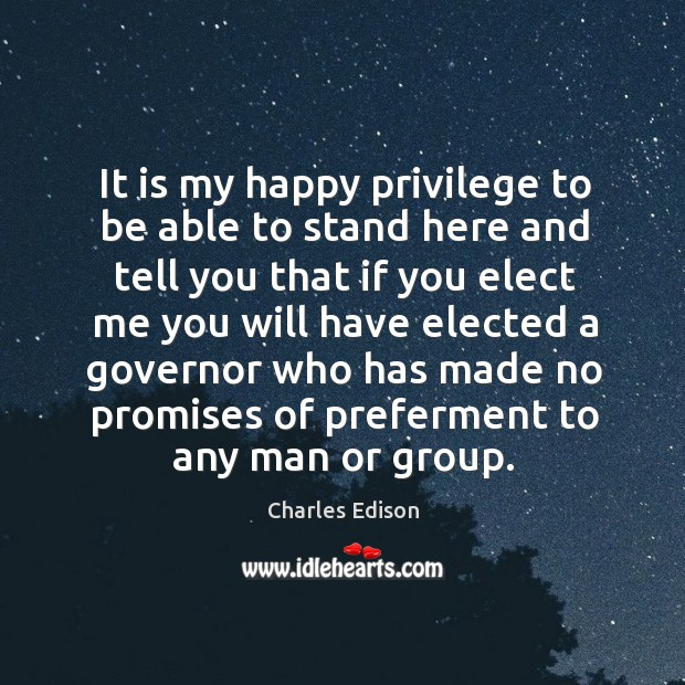 Picture Quote by Charles Edison