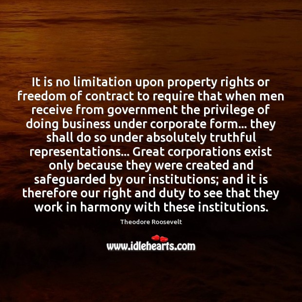 Image, It is no limitation upon property rights or freedom of contract to