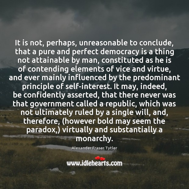 Image, It is not, perhaps, unreasonable to conclude, that a pure and perfect