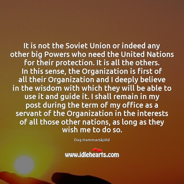 Image, It is not the Soviet Union or indeed any other big Powers