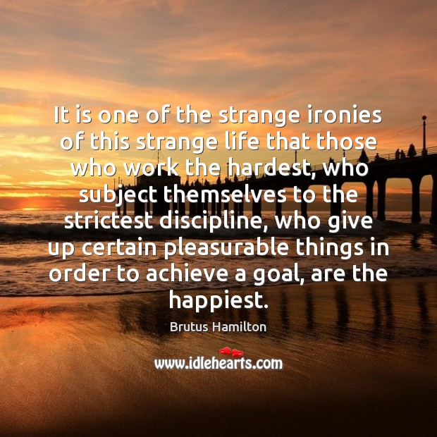It is one of the strange ironies of this strange life that Image